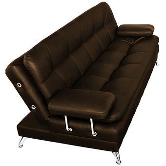 Compra sof cama niza de 3 posiciones caf online linio colombia - Compra sofas online ...
